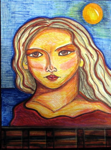 """""""Determined,"""" by Susan E. Hendrich"""