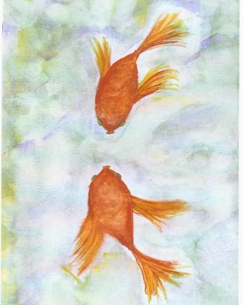 """Kissy Fish,"" by Susan E. Hendrich"