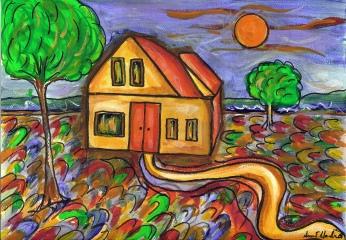 """""""No Place Like Home,"""" by Susan E. Hendrich"""