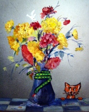 piggyback0903catsnakebirdflowers